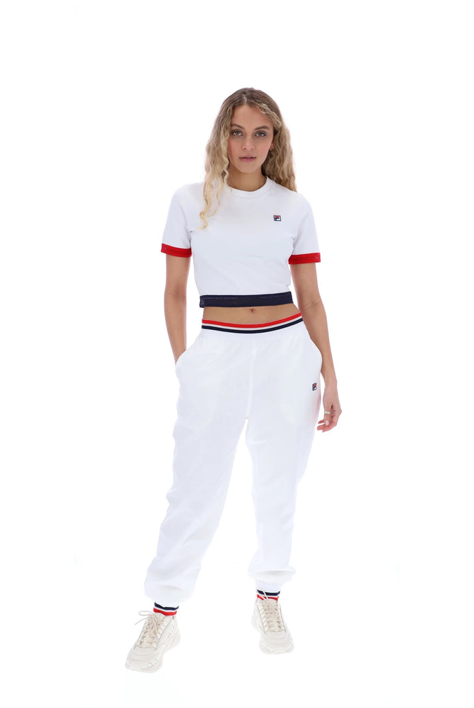 Load image into Gallery viewer, Fila Cattia Crop T-Shirt