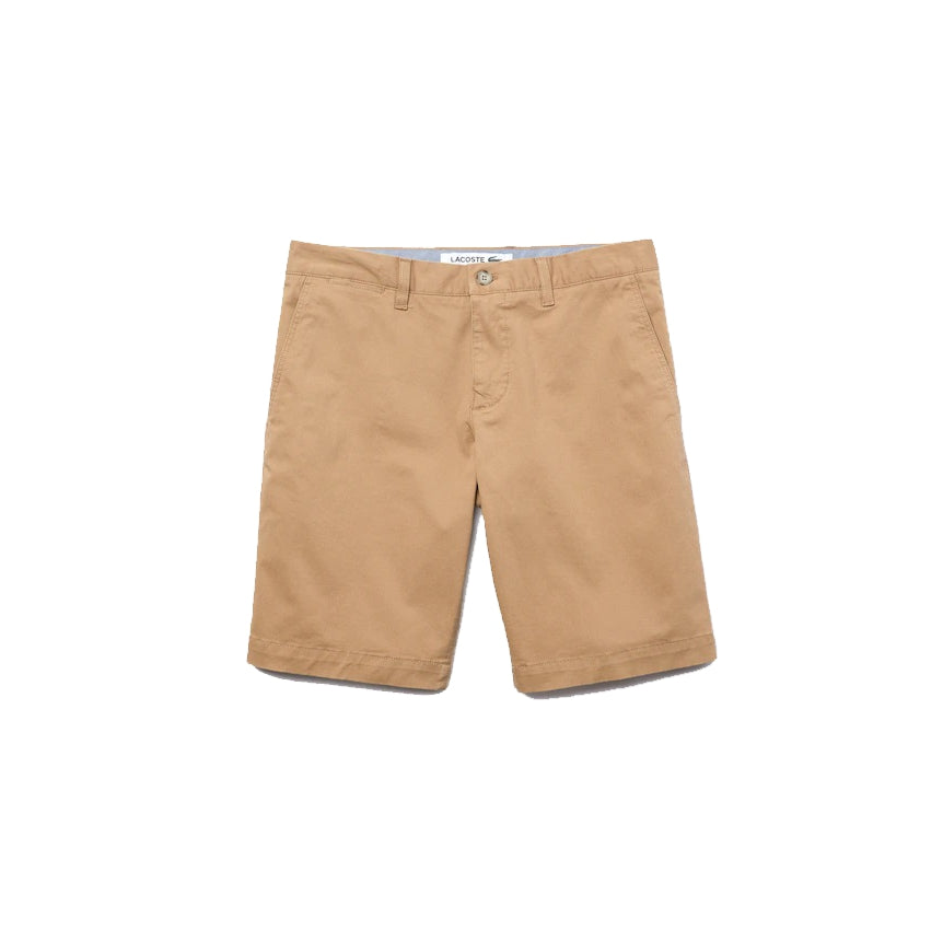 Lacoste FH9542 Men's Classic Fit Stretch Gabardine Bermuda Shorts