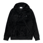 Carhartt Hooded United Script Sweatshirt, Black