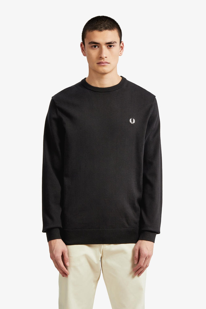 Fred Perry K5523 Classic Crew Neck Knitted Jumper