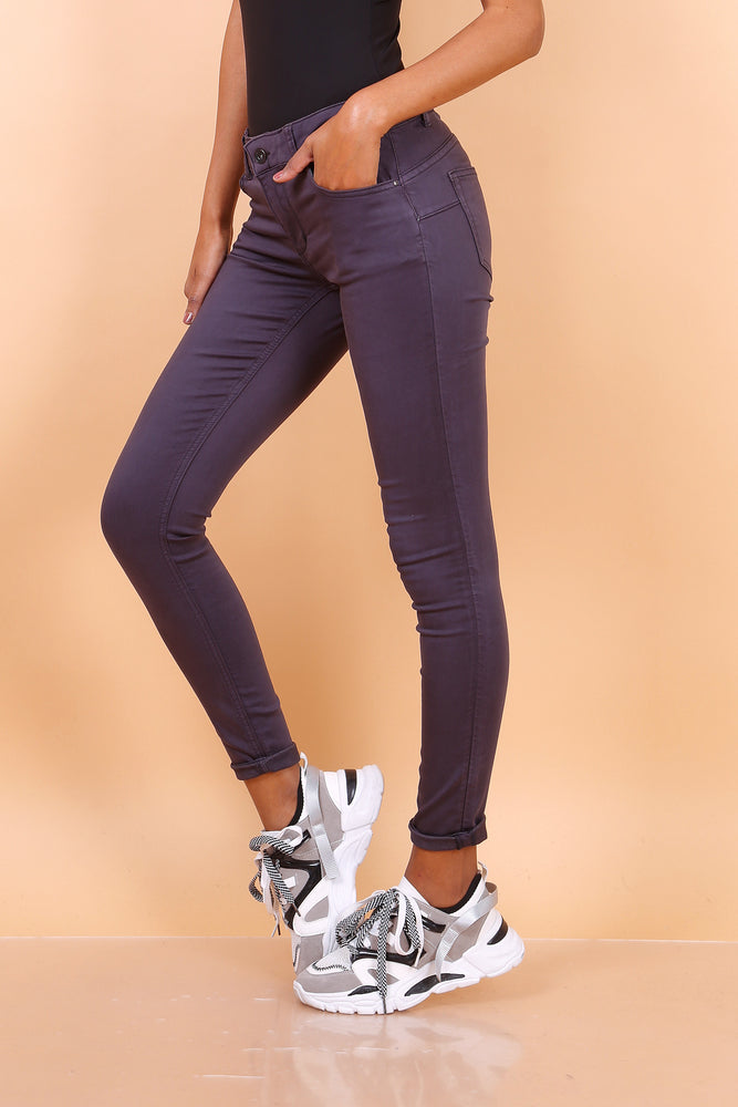 Toxik3 L750-37 Mid Waisted Skinny Jeans