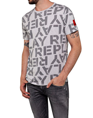 Replay M3029 All Over Print T-Shirt,