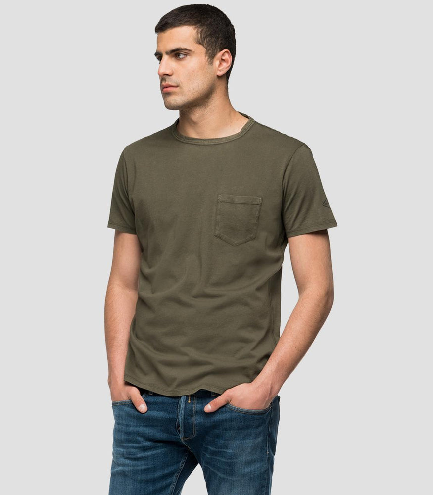 Load image into Gallery viewer, Replay M3185 Pocket T-Shirt  Crewneck t-shirt with pocket