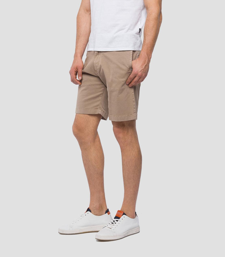 Replay M9638 Regular Fit Chino Bermuda Shorts