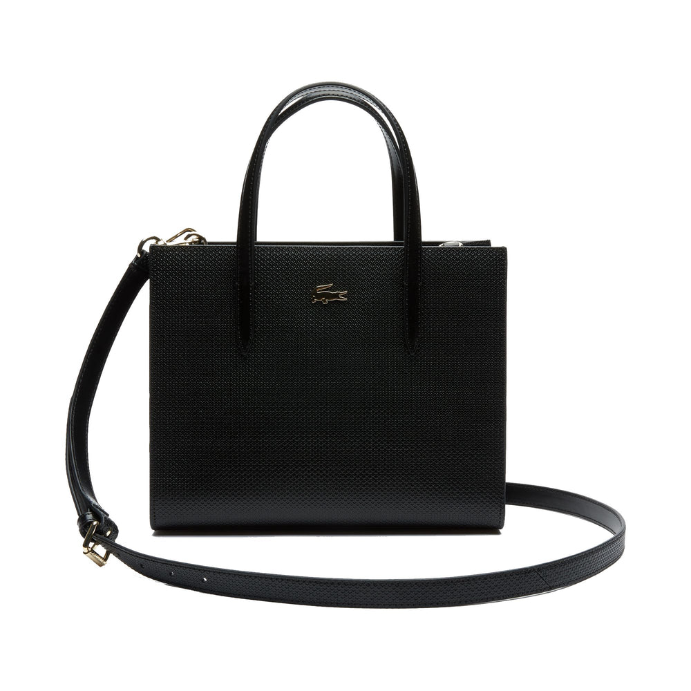 Lacoste Womens NF2562CE Chantaco Dual Carry Pique Leather Tote Bag