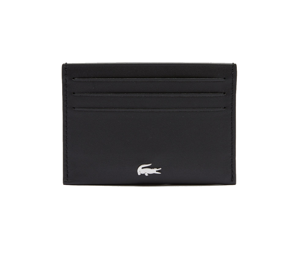 Lacoste NH1346FG Credit Card Holder, Cow Leather