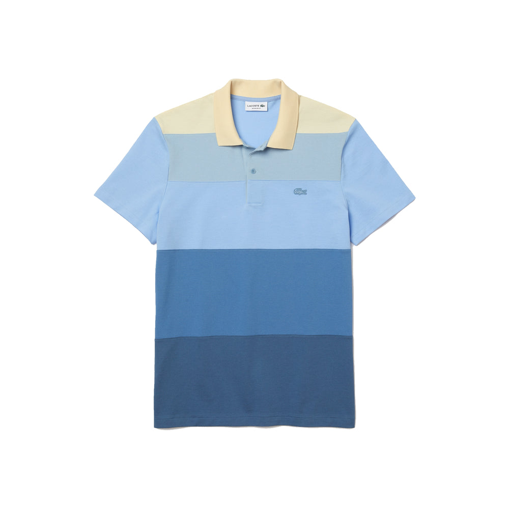 Load image into Gallery viewer, Lacoste PH9719 Men's Lacoste Regular Fit Fresh Colourblock Cotton Piqué Polo Shirt