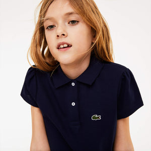 Lacoste Kids PJ3594 Scalloped Collar Polo Shirt