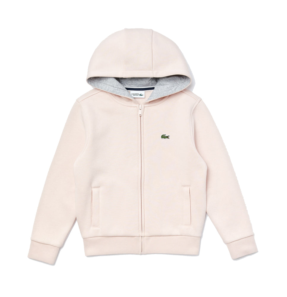 Lacoste Kid's SJ2903 SPORT Tennis Zippered Fleece Sweatshirt