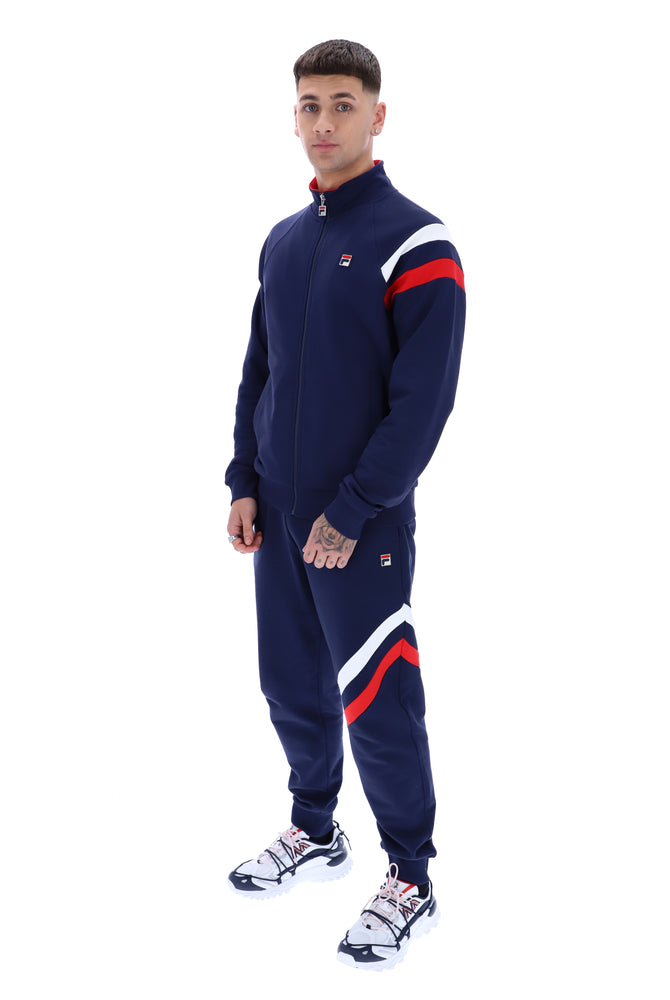 Load image into Gallery viewer, Fila Stance Raglan Sleeve Track Top