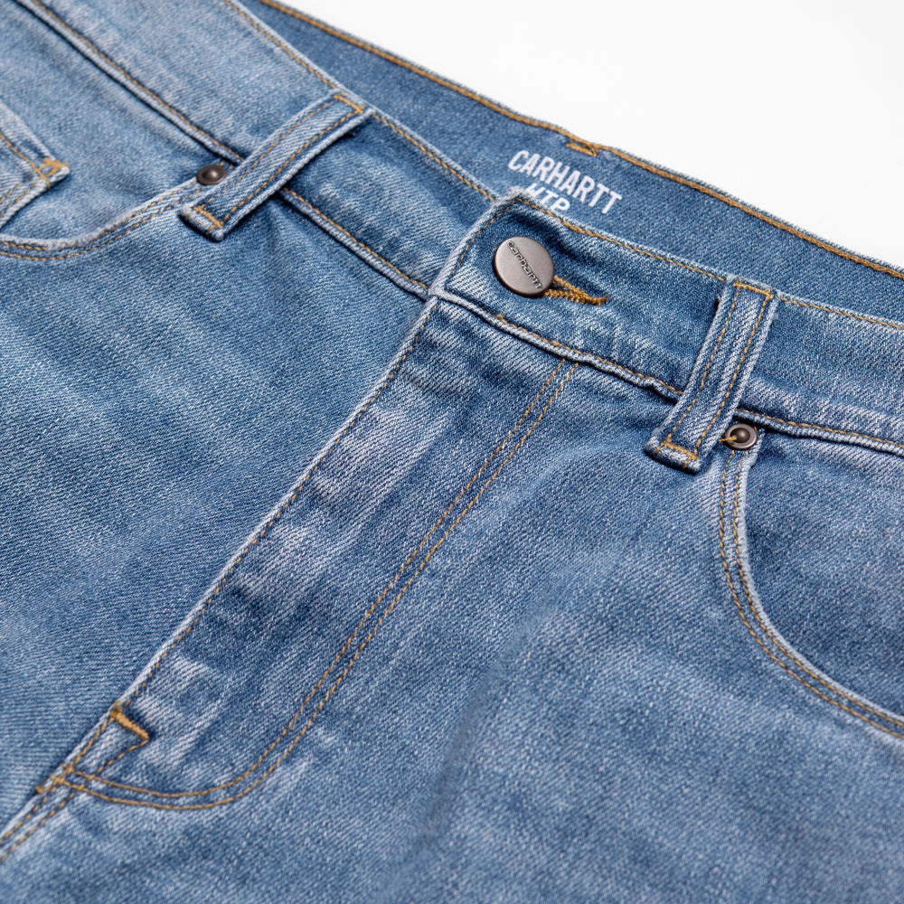 Carhartt Swell 98/2 Blue Denim Shorts