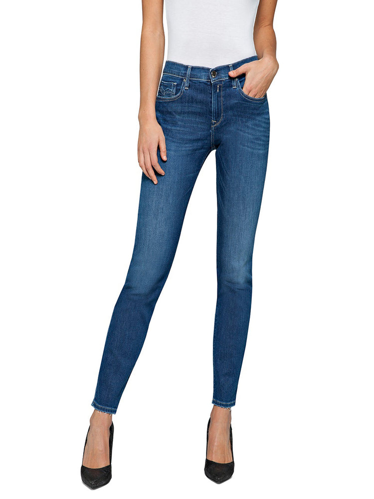 Replay Womens Vivy Slim Jeans, WA696 69D 579 009