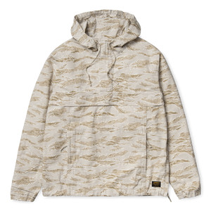Load image into Gallery viewer, Carhartt Vega Pullover Jacket, Camo Tiger - Desert Rinsed