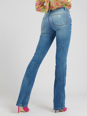 Guess Sexy Boot, Natural Hemp Fiber Jeans