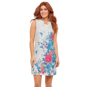 Joe Browns Del Rio Lace Overlay Dress, White