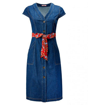 Joe Browns Delightful Denim Dress, Indigo Denim