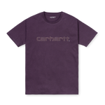Carhartt W' Commission Script T-Shirt, Boysenberry Wine