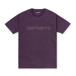Load image into Gallery viewer, Carhartt W' Commission Script T-Shirt, Boysenberry Wine