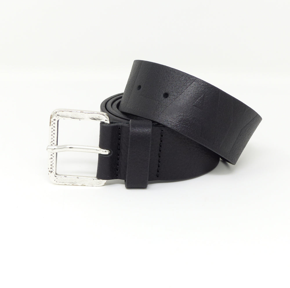 Replay AM2493 Mens Embossed Leather Belt