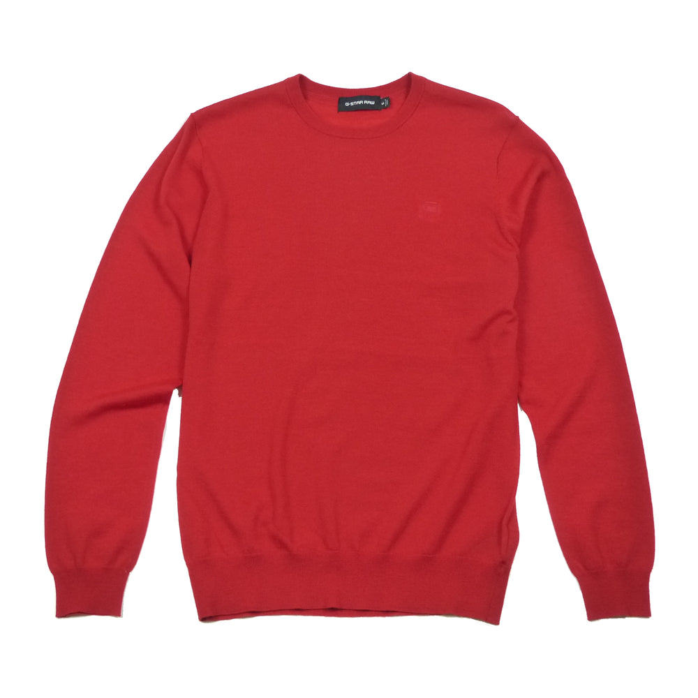Load image into Gallery viewer, G-Star Raw L/S Core R Fine Merino Knitted Crew Neck Jumper