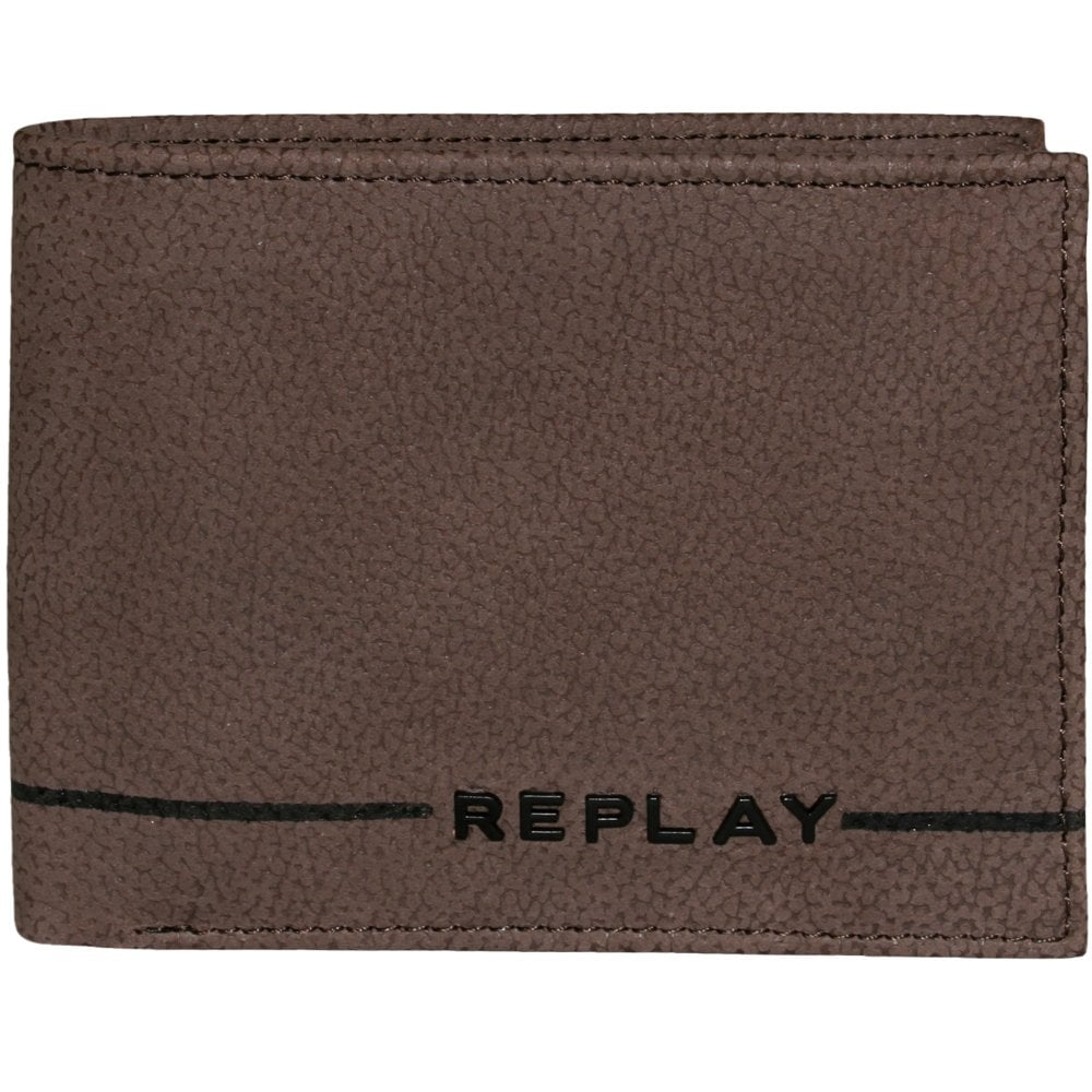 Replay Fm5049 Leather Wallet