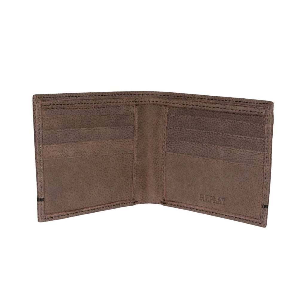 Replay FM5165 BiFold Leather Wallet