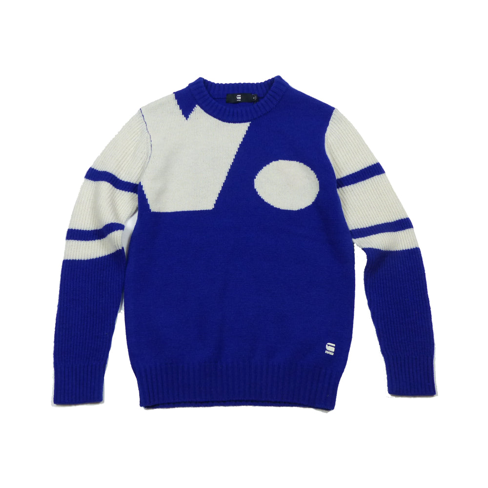 Load image into Gallery viewer, G-Star Raw Khoma Knitted Jumper, Hudson Blue