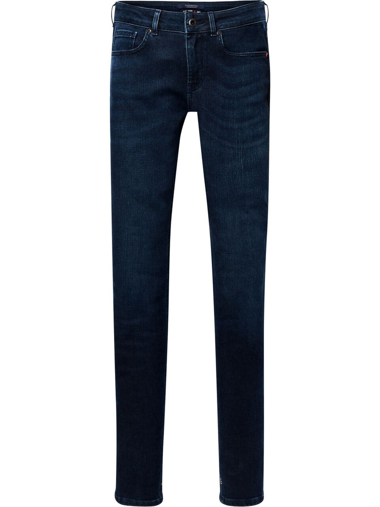 Load image into Gallery viewer, Scotch & Soda La Bohemienne Mid Rise Skinny Jeans, RockingBlauw