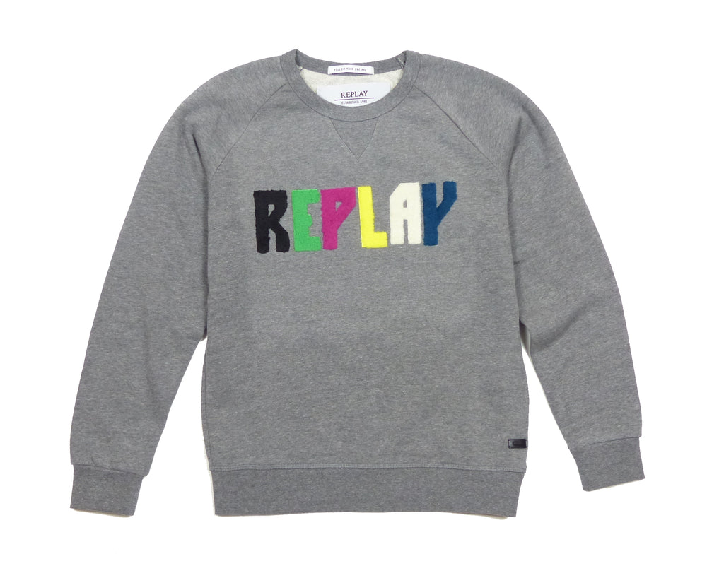 Replay Womens W3930B Logo Sweatshirt
