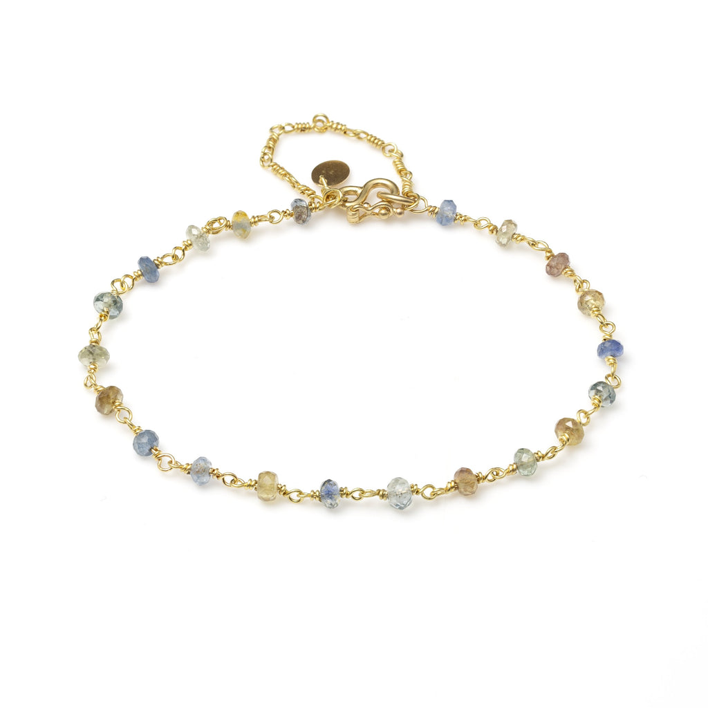 Isabella Bracelet with Mixed Sapphires