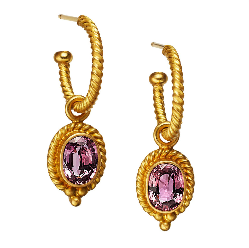 Tania Pink Sapphire Drops