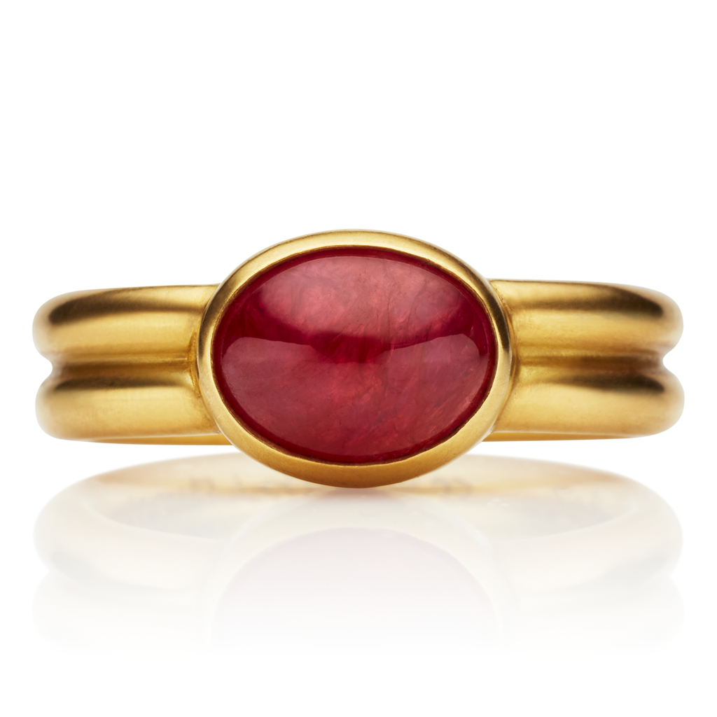 Leslie Ruby Ring