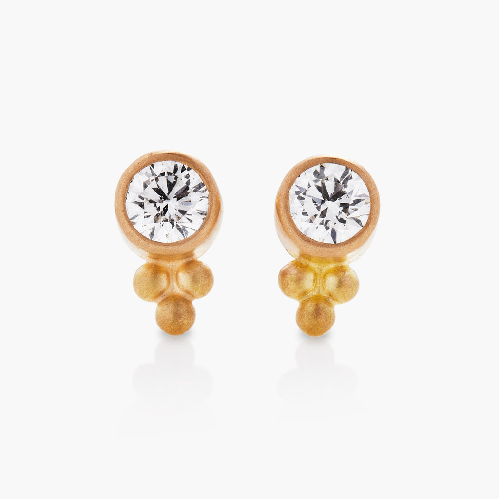 Tania Diamond Studs One Set Of Granuels
