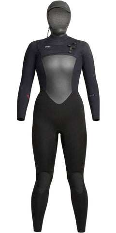 6/5 WOMEN'S INFINITI HOODED WETSUIT BLACK