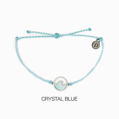 STONE WAVE SILVER CRYSTAL BLUE