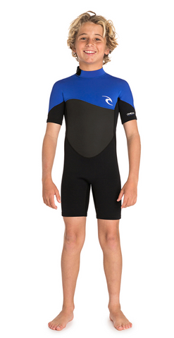 JUNIOR OMEGA 1.5 SHORT SLEEVE SPRINGSUIT
