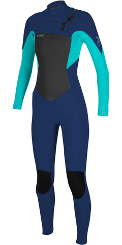 EPIC 3/2MM CHEST ZIP FULL WETSUIT WOMENS