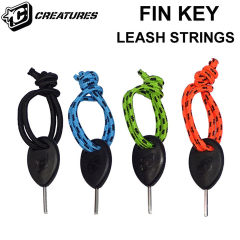 LEASH CORD WITH FIN KEY