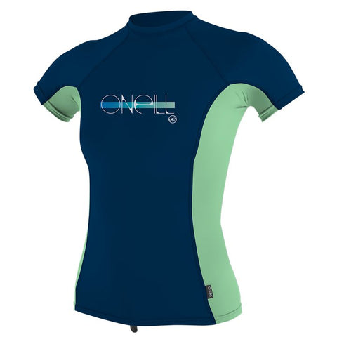 GIRLS PREMIUM SKINS S/S RASH GUARD