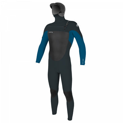MENS  EPIC 6/5/4MM CHEST ZIP FULL WETSUIT W/HOOD