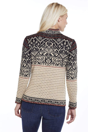 Invisible World Women's Pullover Maxine Pure Alpaca Norwegian Sweater