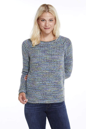 Kero Women's Pullover Northern Lights Hand-Dyed Alpaca Jumper for Women