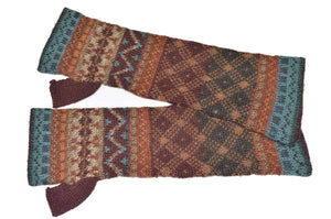 Invisible World Gloves Rowan Women's Fingerless Alpaca Gloves