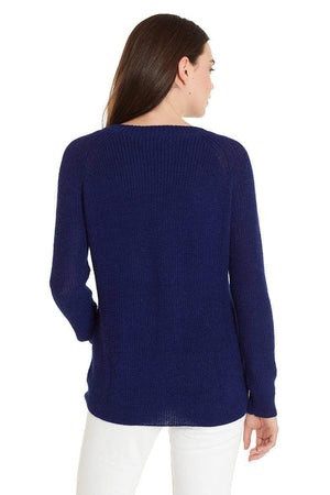 Invisible World Women's Pullover Slouchy Baby Alpaca Crew Neck Jumper