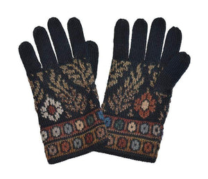 Invisible World EU Tibet Women's Full Fingered Alpaca Gloves