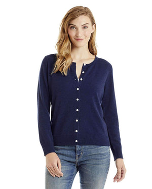 Invisible World Women's Cardigan Astral / Small Women's Button Up Pure Cashmere Little Cardigan