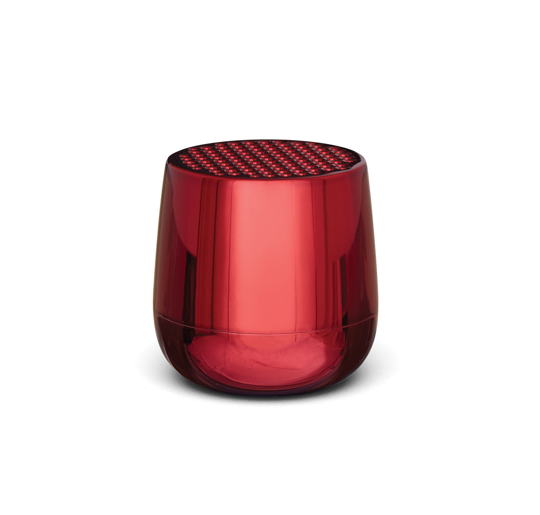 Lexon Mino+ LA125 Bluetooth Speaker Metallic Red