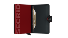 Afbeelding in Gallery-weergave laden, Secrid Miniwallet Matte Black Red
