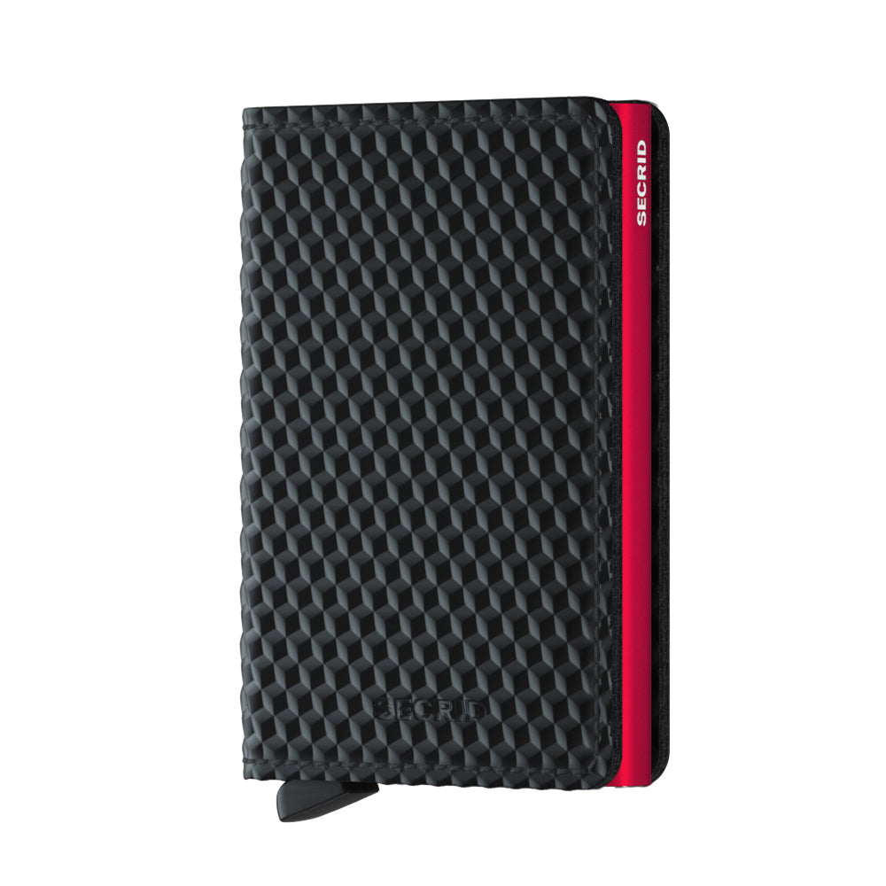 Secrid Miniwallet Cubic Black Red