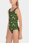 Avocado Fruit Kids Swimsuit-SeeMyLeggings